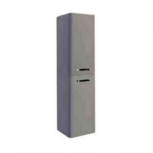Kartell Options Wall Mounted Side Unit - 1400mm High - Basalt Grey